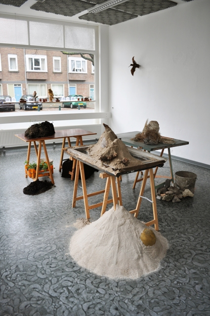 the research centre for practicing nature, installation by Dutch artist Sanne van Gent www.sannevangent.com